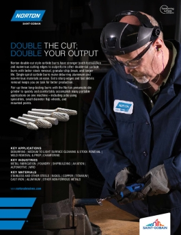 Norton Carbide Burrs - Brochure 8701