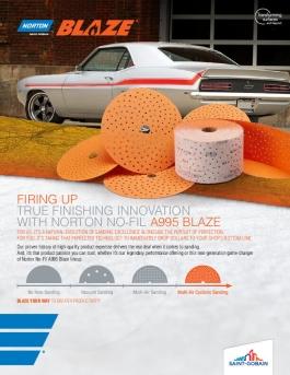 Norton Blaze A995 Multi-Air Cyclonic Discs Brochure 8662