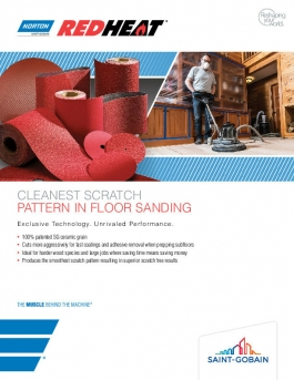 Norton Red Heat Floor Sanding Brochure - 8506