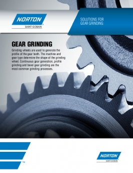 Norton Solutions for Gear Grinding Brochure - 8407
