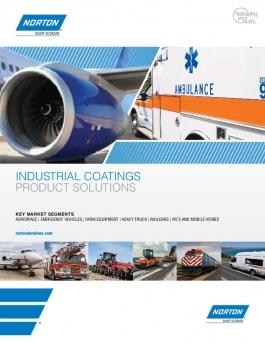 Norton Industrial Coatings Product Solutions Brochure - 8525