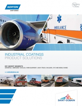 Norton Industrial Coatings Product Solutions Brochure - 8525