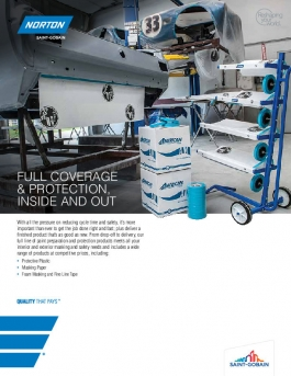 Norton Automotive Masking Products Brochure - 7829