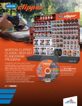 Brochure - Merchandising - Best Set - Norton Clipper - 8919