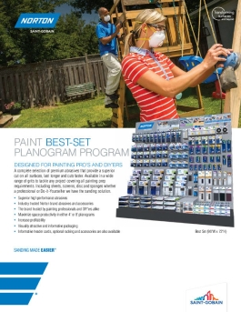 Brochure - Merchandising - Best Set - Paint - 8897