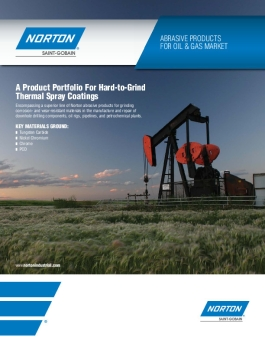 Norton Abrasive Products for Oil and Gas Market Brochure - 8368
