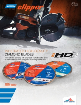 Norton Infiltrated High-Density Technology Diamond Blade Brochure-8563