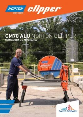 Cortadora de Alvenaria CM70 Alu Norton Clipper