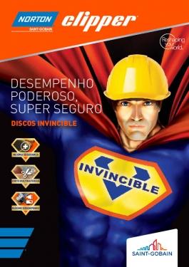 Discos Diamantados Construção Mr. Invincible Norton Clipper