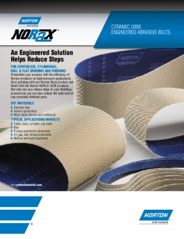 Norton NORax U936 Belts Flyer - 8239
