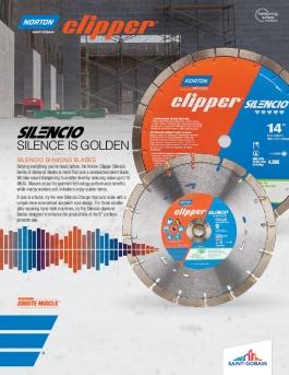Flyer - Diamond Blades - Silencio - 8123