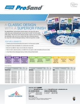 Norton ProSand UVH Vacuum Sanding Discs Flyer - 8680