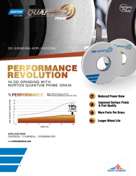 Flyer - Grain - Quantum Prime - Application - ODGrinding - 8911