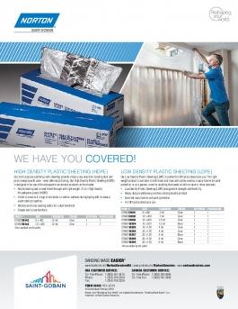 Norton Plastic Sheeting Flyer - 8459
