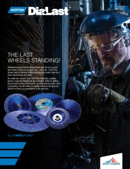 Norton DiaLast Diamond Cutting and Grinding Wheels Flyer - 8558
