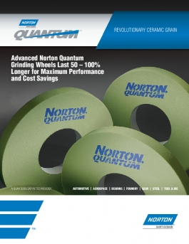 Norton Quantum Grinding Technology Flyer - 8059