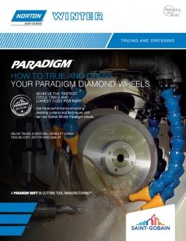 Norton Winter Paradigm Diamond Wheels True and Dress Flyer - 8337