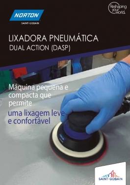 Lixadora Pneumática Dual Action Norton (DASP)