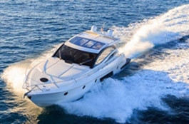 boat representing new marine catalogue