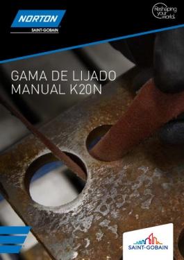 NORTON GAMA DE LIJADO K20N
