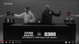 El sistema G360 en acción frente a otros productos de la competencia.