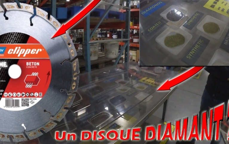 disque diamant