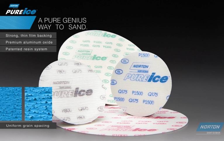 Norton Pure Ice Q175 film discs