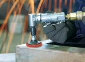 Norton Blaze on mini angle grinder