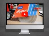 Norton Clipper CS451 floor saw video