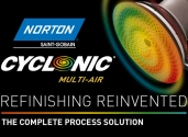 Norton Cyclonic® refinishing solution for AAM