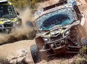 Norton con ell equipo ganador en el Rally Dakar 2018
