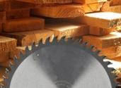 Wood blade