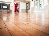 An example of a hardwood floor.