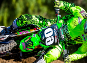 Norton X Team Bud Racing Kawasaki Motocross