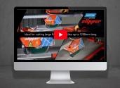 Norton Clipper TR232L tile saw demo video