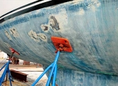 repair boat scratches in gelcoat