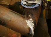 norton quantum flap disc grinding