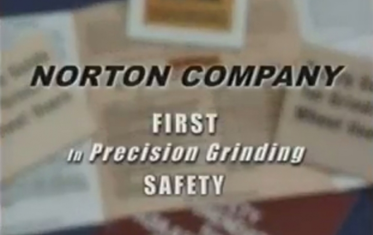 Norton First in Precision Grinding Safety