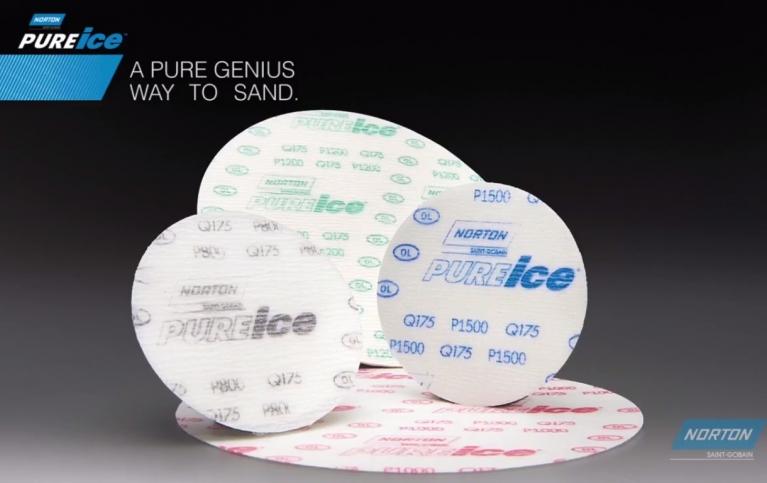 Norton Pure Ice Q175 Film Finishing Discs