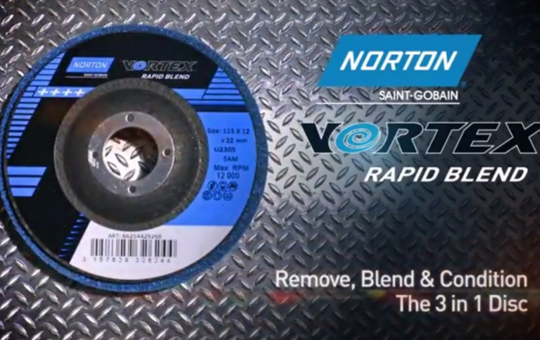 Norton Vortex Rapid Blend - The 3 in 1 disc