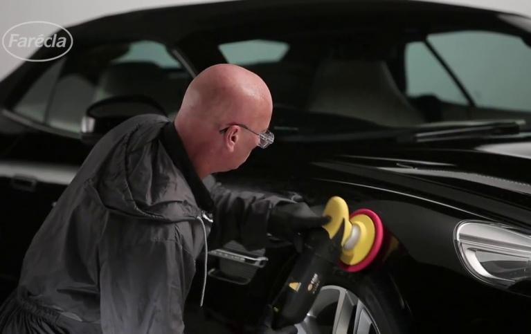 Usuwanie rys z karoserii za pomocą G3 Extra Plus