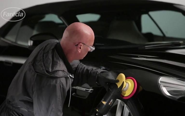 Polerowanie karoserii pastą polerską Farécla G3 Premium