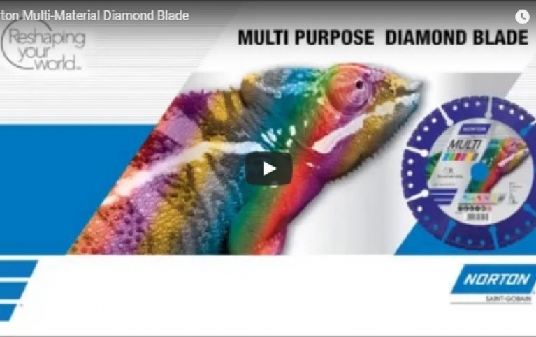 norton multi-material diamond blade