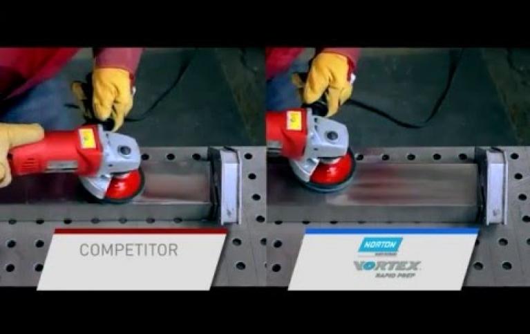 Vortex Rapid Prep w akcji kondycjonowania powierzchni