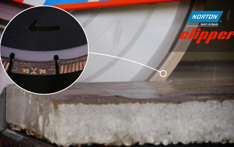 Przecinarka do materiałów murarskich Norton Clipper CM42