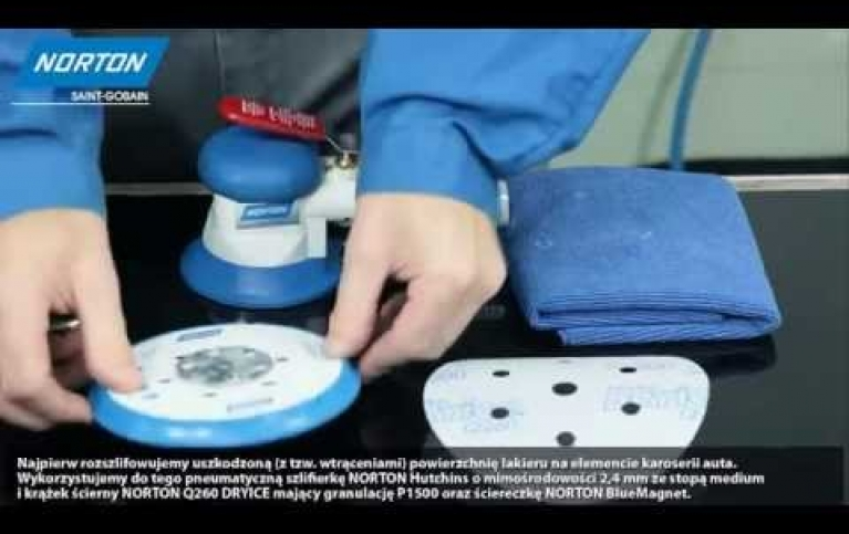 Usuwanie wtrąceń w perforacji karoserii