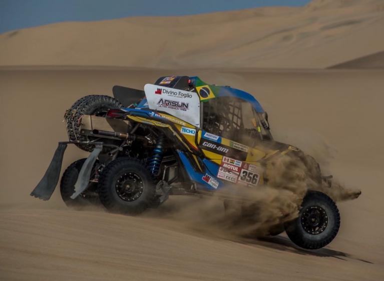 Dakar carro ganador NORTON