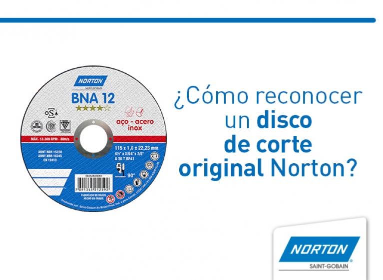 disco de corte original norton