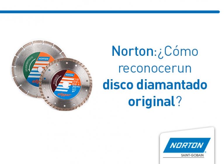norton disco diamantado original