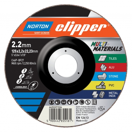Clipper for Right-Angle Grinder Cut-Off &Grinding on MULTIPURPOSE Cut-Off &Grinding